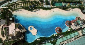 Caribbean Coast Swimming Pool Overview 2007